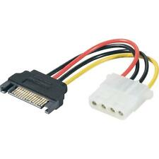 4 PIN IDE Molex to 15 pin SATA Male HDD Hard Disk Drive Power Adapter Cable 20CM