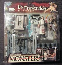 1998 McFarlane Toys Monsters DR. FRANKENSTEIN Playset MOC C-7.5