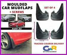 Rubbert Car Mud Flaps Splash guards set of 4 front and rear for Audi A4