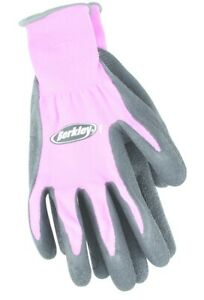 Berkley Coated Ladies Slippery Fish Gloves w/Textured Grip Pink BTLCFG