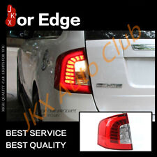 Red Lens LED Rear Brake Lights Assembly LED Tail Lamps For Ford Edge 2011-2014