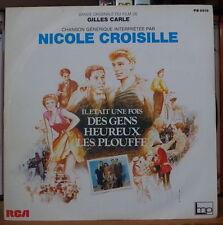 """IL ETAIT UNE FOIS DES GENS HEUREUX LES PLOUFFE OST 45t 7"""" FRENCH SP RCA 1982"""