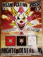 Insane Clown Posse - The Mighty Death Pop Poster twiztid psychopathic records