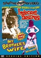 Indecent Desires/my Brother's Wife 0014381003529 With Trom Little DVD Region 1
