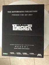 PUNISHER WAR ZONE BUST FINE ART STATUE KOTOBUKIYA MARVEL MOVIE MARQUEE LIGHT-UP
