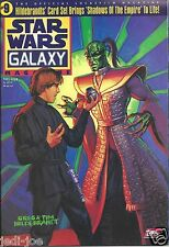 Topps Star Wars Galaxy Magazine #9 Hildebrandts Shadows of the Empire