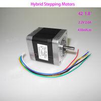 Minebea 17PM-F438C 1.8º Hybrid Stepping Motor DIY 3D Printer 42 Stepper Motors