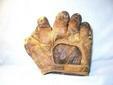 Antique circa 1900/10  A.J. Reach 2 inch web left handed thrower Baseball Glove