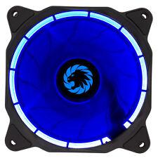 Jeu bleu Max Eclipse ring led 120mm boîtier pc ventilateur de refroidissement avec hydraulique roulements