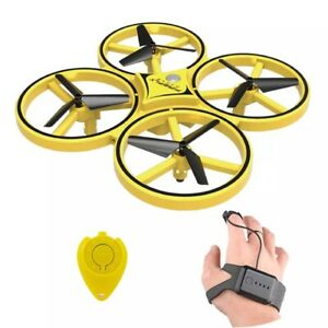 Hand Control Drone ZF04 RC Mini Infrared Induction Altitude Hold 2 control Kids