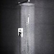 SR SUN RISE SRSH-F5043 Bathroom Luxury Rain Mixer Shower Combo Set Wall Mounted