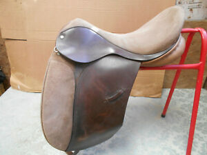 Ideal Jessica suede dressage saddle 4riding competition event show Charity Sale