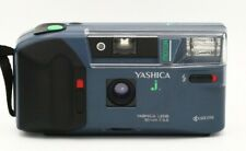 Yashica J Motor 32mm F3.5 Tessar type lens in good condition Kyocera blue