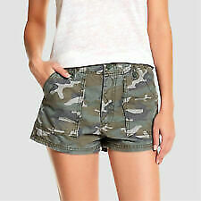 Women's Military Style Shorts