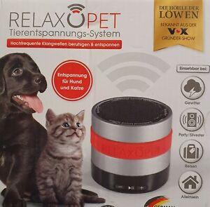 RelaxoPet Tierentspannungs-System Hund & Katze, Beruhigung durch Klangwellen