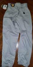 Wilson Womens Fastpitch Softball Gray Pants SMALL