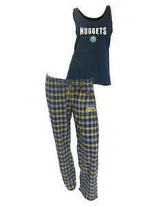 College Concepts ~ Denver Nuggets Women's Lounge Sleep Set $45 NWT
