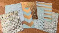 Mint Gold Collection Cover Set use with Erin Condren Life Planner