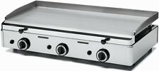 Parry PGF800G Stainless Steel Natural Gas Griddle with Three Burners (Boxed New)