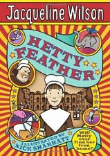 Complete Set Series Lot of 4 Hetty Feather books by Jacqueline Wilson YA Emerald