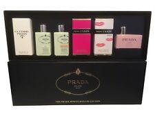 Miniature Gift Set of 6 Prada Candy Kiss Amber Les Infusions Iris Women Perfume