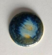 Ruskin Signed Pottery Cabochon Arts And Crafts #2