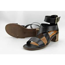 Steve Madden Raeleen Women US 8.5 Black Gladiator Sandal Pre Owned  1385