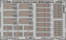 EDUARD 1/72 SEATBELTS SOVIET UNION STEEL FIGHTER WWII (PAINTED)   73039
