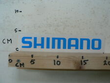 STICKER,DECAL SHIMANO LOGO BLUE FIETSEN WIELRENNNEN CYCLES ?