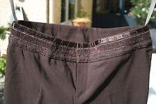 NEUF Pantalon  MEXX taille 36 avec  étiquettes en stretch couleur marron