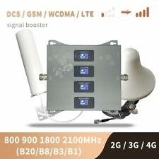 2G 3G 4G LTE All Europe Bands Signal Booster 800 900 1800 2100 MHz - LPDA/Dome