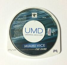 USED PSP Disc Only MIAMI VICE THE GAME JAPAN import Japanese game