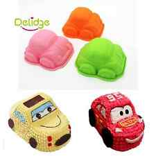 Kid Cute Car Silicone Cake Decoration Chocolate Tray Pan Baking Mould Mold Tools