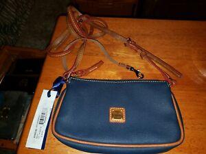 New Dooney & Bourke Navy Lexi crossbody small purse bag NWT