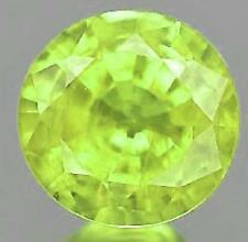 Loupe Clean Very Good Green Loose Natural Sapphires