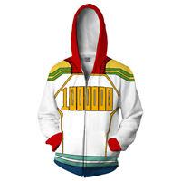 My Hero Academia Le Million Mirio Togata Hoodie Cosplay Pullover Coat Gift