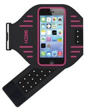 Skech Sports Armband Running Bike Cycling Gym Jogging Ridding Arm iPhone 5 Pink