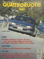 QUATTRORUOTE FEBBRAIO 1994 FERRARI 348 PORCHE 911