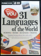 Teaching-you 31 Languages of the World (2 x CD ROM for PC/MAC)