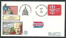 1979 VATICANO VIAGGI DEL PAPA USA WASHINGTON - EV