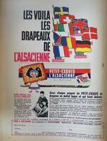 Publicité de presse // biscuits l'Alsacienne