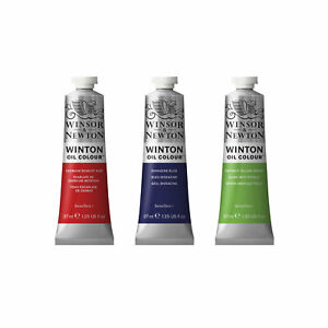 Winsor & Newton Winton Oil 37 or 200ml single Tubes - 55 colours