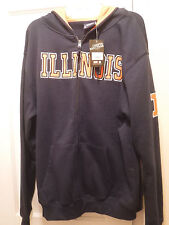 University of Illinois at Urbana-Champaign, IL Men's Hoodie,  Size XL-New w Tags