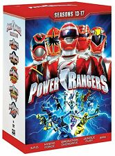 Power Rangers: TV Series Complete Seasons 13 14 15 16 17 DVD Boxed Set NEW!