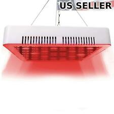 300W LED Grow Light 660nm Deep Red Panel Indoor Hydroponic Flower Bloom Booster