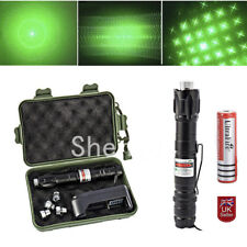 Green Pointer Pen Beam Professional Light Pen Beam 532nm+5 Star Cap