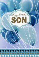 Happy Birthday Son - Birthday Greeting Card - 00987