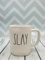 "NEW Rae Dunn Glossy LL ""SLAY"" Coffee / Tea / Mug / Cup"