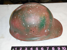 Vintage Aluminum  COAL MINING HARD HAT ~ Jackson--LINER DAMAGE