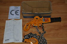Kito Level Hoist LB016 X 1.5m L5 Series /WLL: 1.6 Tones -Made In Japan/ Ex Cond.